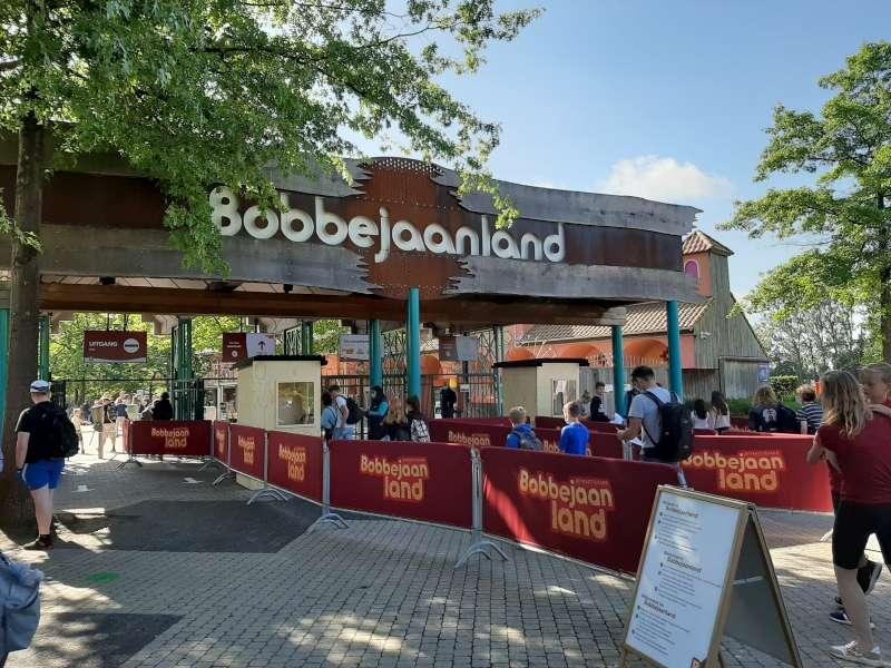 ingang Bobbejaanland