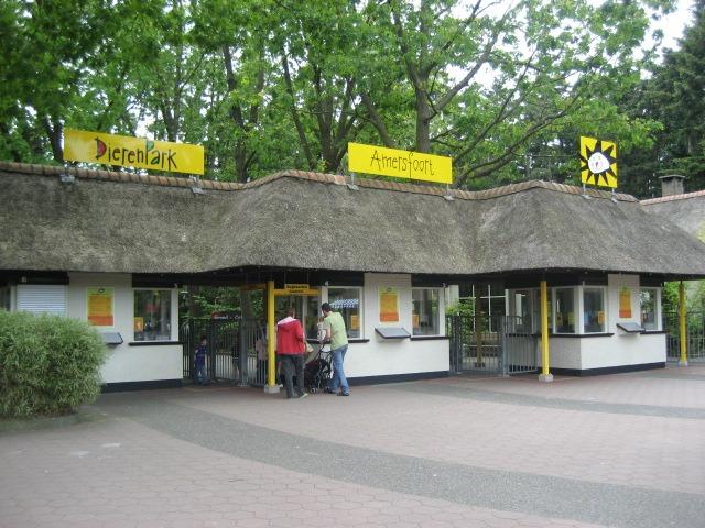 Ingang Dierenpark Amersfoort
