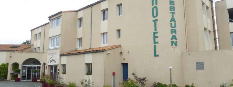 Hotel Aloé Puy du Fou entrance