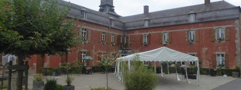 Hotel Château de la Motte entrance