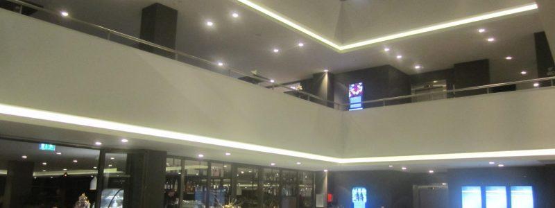 Hotel Van der Valk Eindhoven hallway