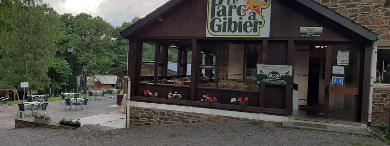 Parc à Gibier de La Roche en Ardenne entrance