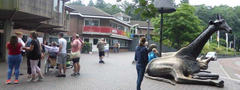 Ingang Burgers Zoo