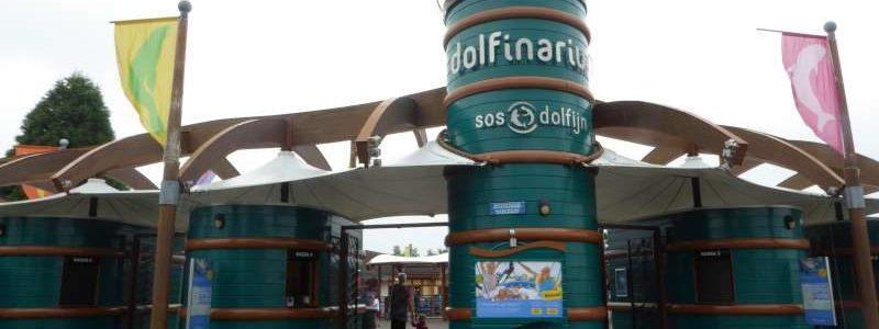 Ingang Dolfinarium Harderwijk