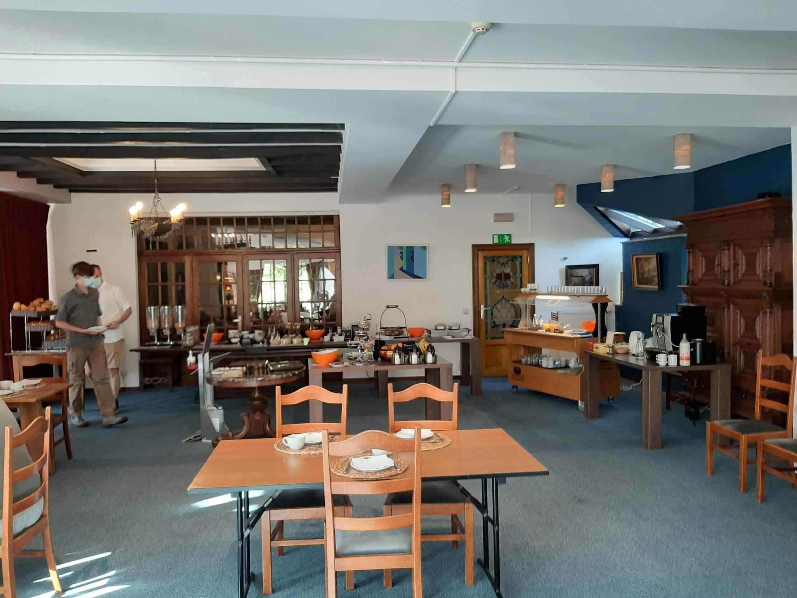 Hostellerie la Claire Fontaine La Roche-en-Ardenne breakfast