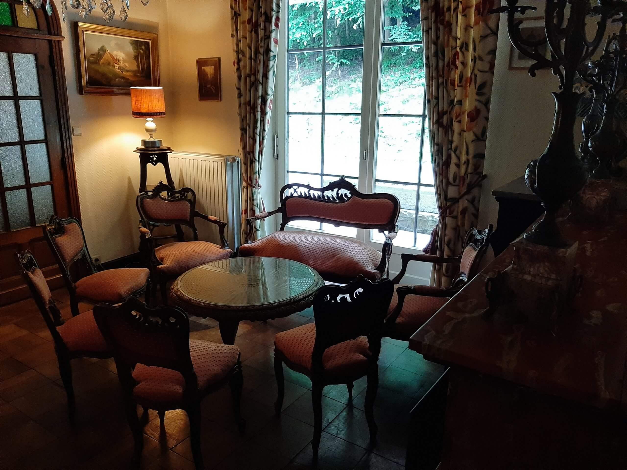 Hostellerie la Claire Fontaine La Roche-en-Ardenne intérieure