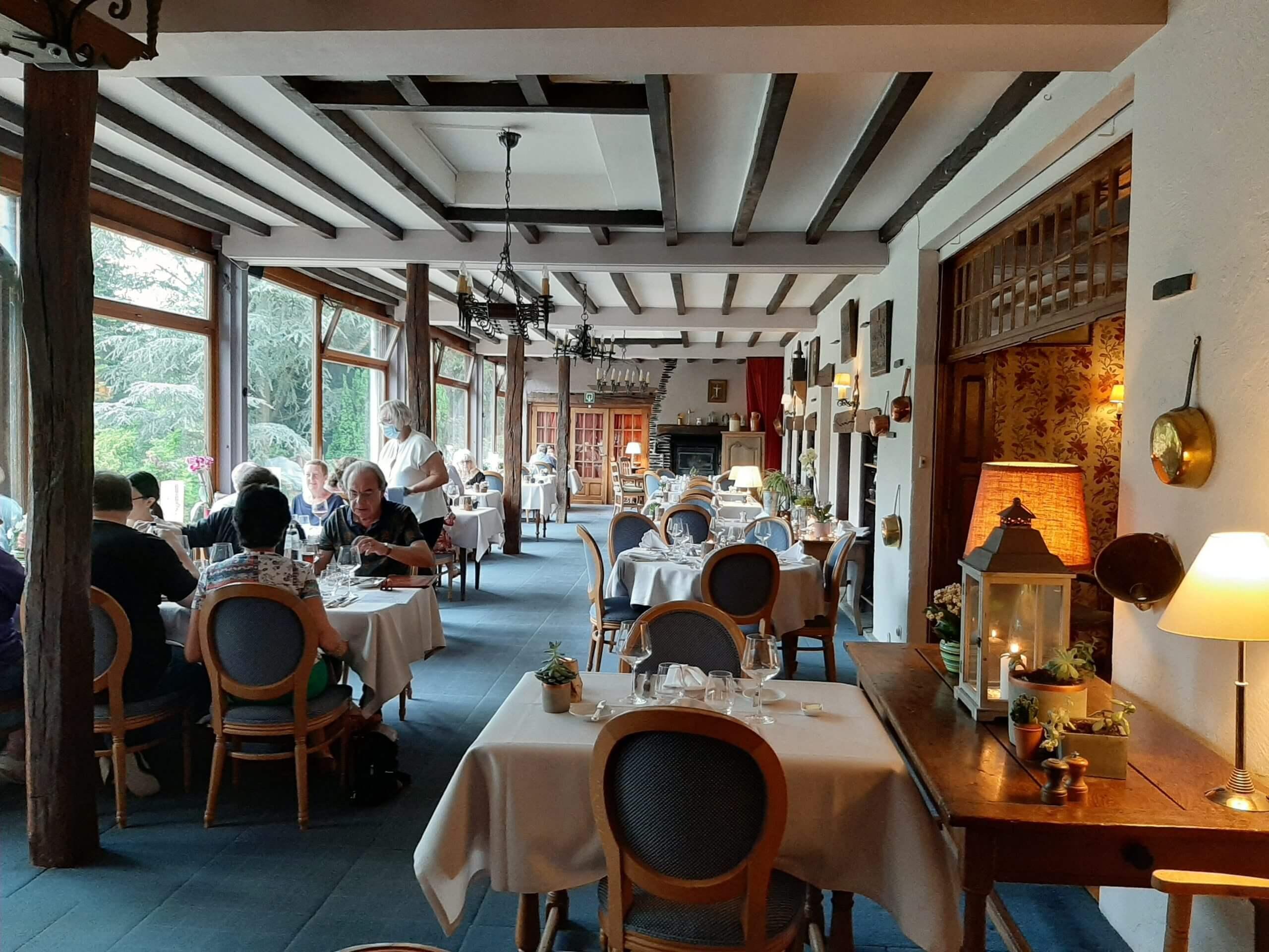 Hostellerie la Claire Fontaine La Roche-en-Ardenne restaurant