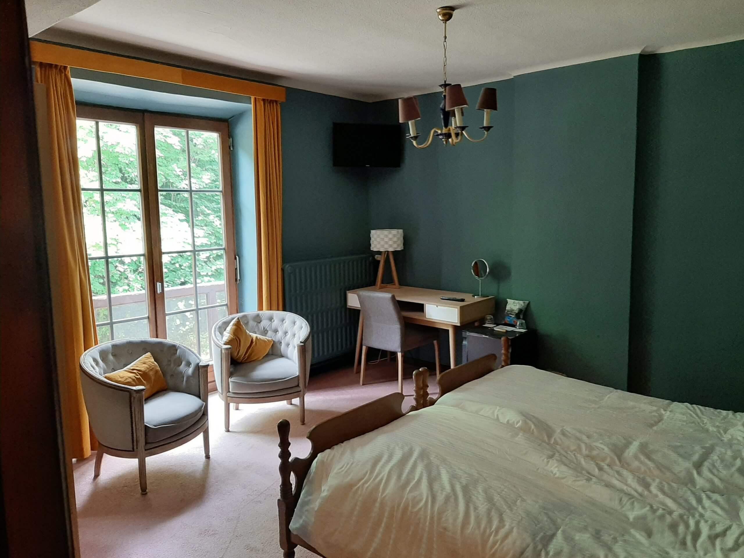 Hostellerie la Claire Fontaine La Roche-en-Ardenne room 2