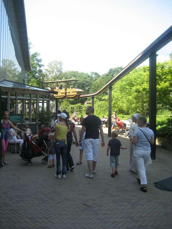 Monorail Ouwehands Dierenpark Rhenen 800