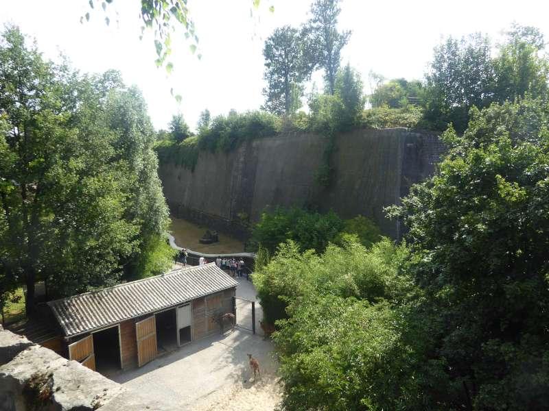 Zoo de Maubeuge beneden Vauban