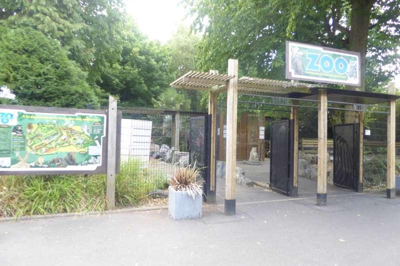 Zoo de Maubeuge ingang